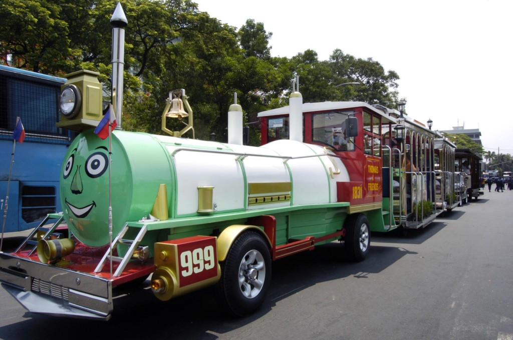 Pinoy Thomas and Friends Train